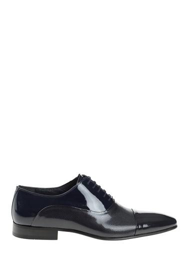 Daffari %100 Deri Bağcıklı Klasik Ayakkabı Lacivert